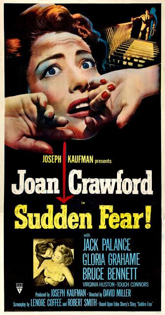『枯葉』 『突然の恐怖』ポスター 『枯葉』 それでも闘うクロフォード 映画の國